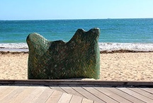 Sculpture@Bathers / Central's artists dominated the entries at the inaugural Sculpture@Bathers exhibition which concluded on the Fremantle foreshore over the Easter weekend.