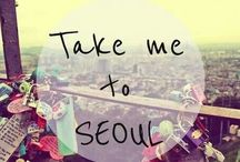 korean TRAVEL / bucket list item, i will travel to south korea / by Tellylin