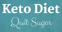 Keto Diet: Quit Sugar / Did you know sugar is EIGHT TIMES as addictive as cocaine?! Check out my sugar detox resources to help you break your sugar habit.  Sue Hall is a Certified Ketogenic Living Coach, showing you how to take back control of your health and elevate your happiness!