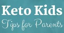 Keto Kids: Tips for Parents / Sue Hall is a Certified Ketogenic Living Coach helping parents and their kids successfully live the keto life in a carb filled world!