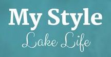 My Style: Lake Life / Something about just sitting outside at the Lake House watching the water is so calming and peaceful. Sue Hall is a Certified Ketogenic Living Coach, showing you how to take back control of your health and elevate your happiness!