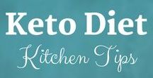 Keto Diet: Kitchen Tips / Learn how to set up your keto kitchen for success with these kitchen tips!  Sue Hall is a Certified Ketogenic Living Coach, showing you how to take back control of your health and elevate your happiness!