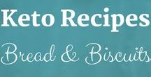 Keto Recipes: Bread & Biscuits / Keto Recipes from the Keto Kitchen to keep you on track with delicious food. Bon Appétit! Sue Hall is a Certified Ketogenic Living Coach, showing you how to take back control of your health and elevate your happiness!