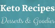 Keto Recipes: Desserts & Goodies / Keto Recipes from the Keto Kitchen to keep you on track with delicious food. Bon Appétit! Sue Hall is a Certified Ketogenic Living Coach, showing you how to take back control of your health and elevate your happiness!