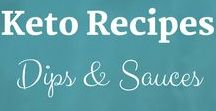 Keto Recipes: Dips & Sauces / Keto Recipes from the Keto Kitchen to keep you on track with delicious food. Bon Appétit! Sue Hall is a Certified Ketogenic Living Coach, showing you how to take back control of your health and elevate your happiness!