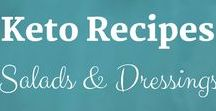 Keto Recipes: Salads & Dressings / Keto Recipes from the Keto Kitchen to keep you on track with delicious food. Bon Appétit! Sue Hall is a Certified Ketogenic Living Coach, showing you how to take back control of your health and elevate your happiness!