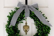 Holiday Decor / different ideas and inspiration for various holidays (Halloween, Thanksgiving, Christmas, etc.)
