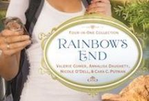 Rainbow's End (novella collection) / Rainbow's End, a collection of 4 contemporary romance novellas, releases May 2012 from Barbour / by Valerie Comer