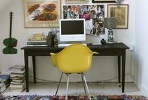 pretty workspace / workin it out.