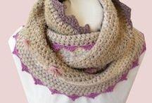 Create - Crochet scarfs / crochet scarfs, shawls, cowls, & C   / by annamelie