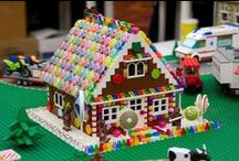 GingerBreadHouses / by OldTimeCandy.com