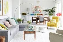 Living Room / living room home decor and inspirations