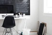 Workspace / office, craft, blogging, desks, etc. => workspace ideas and inspiration