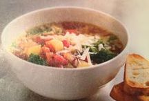 Soup, there it is. / We like soup.