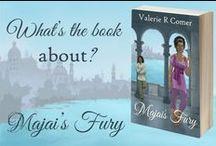 Majai's Fury / Majai's Fury, a romantic fantasy adventure novel by Valerie R Comer.