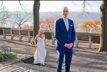 Kelly + Dan at Fort Tryon Park / Documentary style #weddingphotography by me of Kelly and Dan's deco modern nuptials at the former Rockefeller Estate in Fort Tryon Park.