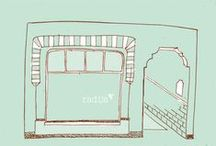 RADIJS, de stenen winkel... / RADIJS, de stenen winkel waar je alles in het echt kunt, zien, voelen en passen. Naast kleding, tassen en sieraden vind je er ook allerlei bijzondere kadootjes van keramiek, beton en papier. Hier alvast een voorproefje!
