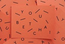 Designgasm / Typography/Pattern/Color/Packaging --General Inspiration for the Graphic Designer / by Bailey Sears
