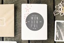 | design: stationery | / by Teresa Lang