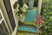 DECOR: Outdoor Spaces / by Danielle @ Red Peach Designs