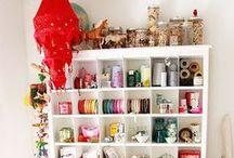 DECOR: Craft Room / by Danielle @ Red Peach Designs