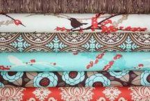 CRAFTY: Fabric / by Danielle @ Red Peach Designs