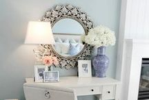 DECOR: Halls & Other Areas / by Danielle @ Red Peach Designs