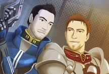 Dragon Age + Mass Effect / Two of my greatest video game loves...both brought to you by BioWare.  / by Kayla Oldridge Corson