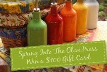 Spring Into The Olive Press - Win a $100 Gift Card to The Olive Press! / by The Olive Press
