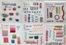 Crafting - Embroidery Stitches / Tutorials, patterns & inspiration / by Jill Parker