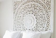 FURNITURE Bedroom / Bedheads, beds, beautiful places to sleep and dream...