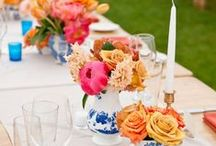 Pops of Color Wedding