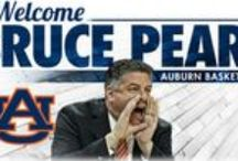 Men's Basketball / Welcome to The Plains, Coach Pearl!  / by Auburn Athletics