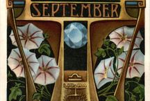 ♎ ℒ i Ᏸ r Ꭿ ♎ A r t / September Libra Zodiac sign illustrations