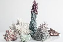 ceramics in colour / colourful ceramic pieces - some functional, some just beautifully pretty