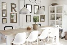 Dining Room / Beautiful Dining Room Inspirations, Dining Room Decor