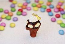 Zuckerschnute Fimo - handmade Polymer Clay Necklaces / Besucht meinen Shop! :o) Zuckersüße Ketten aus Fimo, als Geschenk, Glücksbringer oder für euch selbst! https://www.etsy.com/de/shop/ZuckerschnuteShop