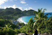 Seychelles Islands / Home to some of the best beaches in the world, there's nowhere quite like the Seychelles.