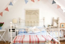 Kids' Rooms - Coastal / A collection of all things coastal and nautical for kids rooms, for great seaside style.