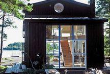 Cabins, Cottages + Summerhouses