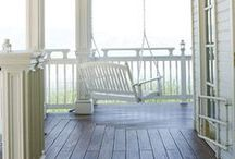 On the porch... / by Diane J. Davis