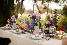 Tea table deco & setting