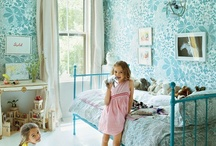 Kids' Rooms - Blue / Blue is not just for boys, as many of these images show!