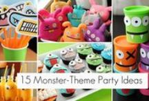 [MONSTER B'DAY PARTY] / by Katie Peterson