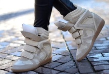 Fashion Inspiration: Wedge Sneakers / by THE WIND OF INSPIRATION