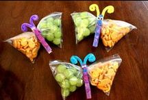 [FUN FOOD FOR THE KIDDOS] / by Katie Peterson