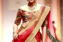 Six yard grace / An Attire which is blend of beauty and elegance / by Ashmayu