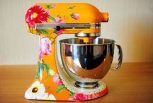 In the Kitchen  / Kitchen gadgets, small appliances, and helpful hints. / by Merrit
