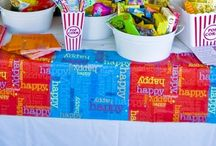 [SIENNA'S DRIVE IN MOVIE B'DAY PARTY] / by Katie Peterson