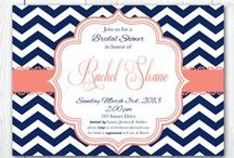 Wedding Stationary / Save-the-dates, Wedding invitations, Programs, Thank You notes, etc. / by Allison Scace